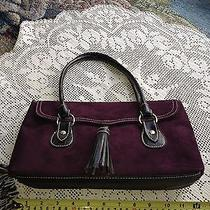 Sale -Victoria's Secret Purple Handbag Purse -Sale Photo