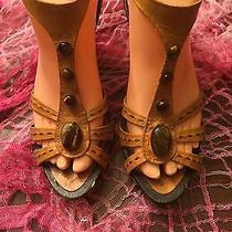 Sale Vince Camuto Strappy Sandal 7 Med Gently Worn Photo