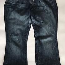 Sale Women's Gap Maternity 1969 Sexy Boot Maternity Jeans Size 30/10 Regular Photo