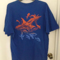 Salt Life  Blue 100% Cotton Men's Xl  Fish Fishing Ocean T-Shirt Tee Photo
