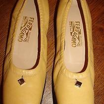 Salvatore Ferragamo Ballet Flats Size  8 Made in Italy 400 Photo