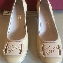 Salvatore Ferragamo Beige Shoes Photo