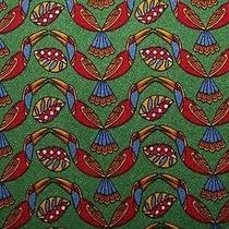 Salvatore Ferragamo Birds 100% Silk Tie Italy Photo