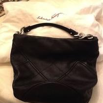 Salvatore Ferragamo  Black Hobo Bag. 1 Start Photo