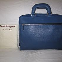 Salvatore Ferragamo Blue Computer Bag / Briefcase Photo