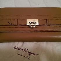 Salvatore Ferragamo Brown Leather Wallet New Made in Italy New With Tag Photo