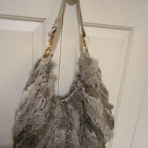 Salvatore Ferragamo Chinchilla Hobo. New Photo