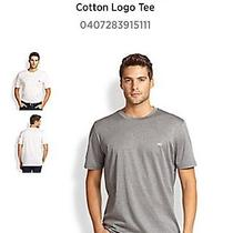 Salvatore Ferragamo Cotton Logo Tee Photo