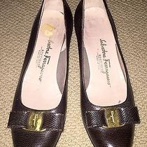 Salvatore Ferragamo Designer Flats Photo