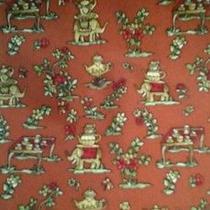 Salvatore Ferragamo Elephant W/ Teapot Burnt Orange Tie 100% Silk Made in Italy Photo
