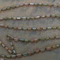 Salvatore Ferragamo Glass Beaded Gold Shimmering Silk Scarf Italy Rare- Unique Photo