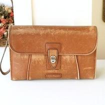 Salvatore Ferragamo Italy Vintage Leather Clutch Wrist Bag 100% Authentic Photo