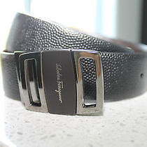 Salvatore Ferragamo Leather Belt Photo