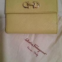 Salvatore Ferragamo Leather Mini Wallet New Made in Italy Photo