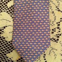 Salvatore Ferragamo Pink Fish Tie Photo