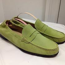 Salvatore Ferragamo Pistachio - Lime Green Loafers Size 8.5 Flats Photo