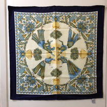Salvatore Ferragamo Print Silk Scarf - Multicolor 25 1/2