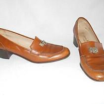 Salvatore Ferragamo Pumps Flats Brown Mocs Loafers 10.5 Aaa Horsebit 3a Classic Photo