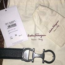 Salvatore Ferragamo Reversible Leather Belt Photo