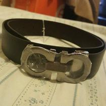 Salvatore Ferragamo Reversible Leather Belt Photo