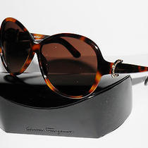 Salvatore Ferragamo Sf611sr 611sr 611 214 Tort Sunglasses Free S/h Final Sale Photo
