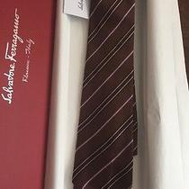 Salvatore Ferragamo Silk Tie New With Box Photo