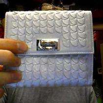 Salvatore Ferragamo Silver Wallet New With Box (Max051992) Photo