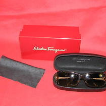 Salvatore Ferragamo Sunglasses Brown Box Case Cloth  Photo