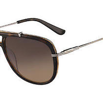 Salvatore Ferragamo Sunglasses Sf687s 239 Havana Wood  60mm Photo
