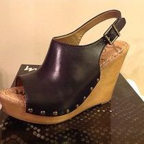 Sam Edelman Camilla Black Leather 8.5 New Photo