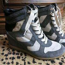 Sam Edelman Designer Wedge Tennis Shoes Size 8.5 Photo