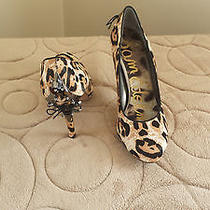 Sam Edelman Evan Snow Leopard Pumps Photo
