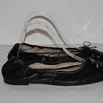 Sam Edelman Felicia Size 7 W Black Ballet Flats Photo