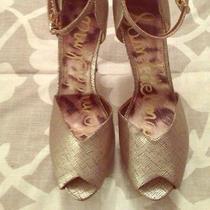 Sam Edelman Gold Sandals Photo