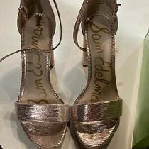 Sam Edelman High Heels Rose Gold Size 7 Photo