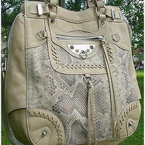 Sam Edelman  Large Beige/taupe/tan Leather Shoulder Handbag/ Purse  Nwt  Photo
