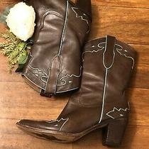 Sam Edelman Limited Edition Womens Western Pull on Boots Size 8 M Good Shape Photo