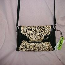 Sam Edelman Makena Convertible Leopard Clutch New With Tags Crossbody Photo