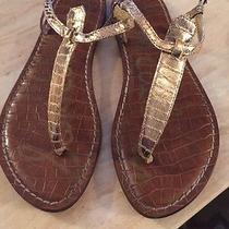 Sam Edelman Metallic Sandals Photo
