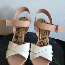 Sam Edelman Open Toe Sasha Wedge Sandals Shoes Women's  9.5m Photo
