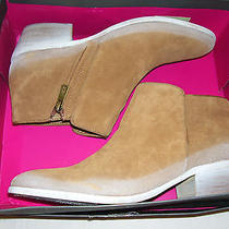 Sam Edelman Petty Putty Suede Low Heel Ankle Boots Booties Womens Size 8.5 Photo