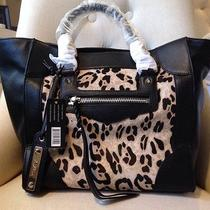 Sam Edelman 'Porter' Snow Leopard Satchel Nwt Photo