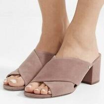 Sam Edelman Stanley Block Heel Mule Blush Pink Size 8.5 Photo