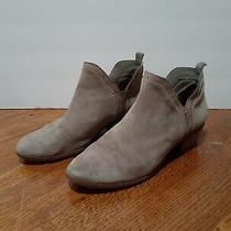 Sam Edelman Tan Suede Slip on Ankle Boots Bootie Size 7.5 Photo