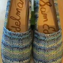 Sam Edelman Women's Khloe Flats Multicolor Blue Shoes Size 9 New in Box Photo