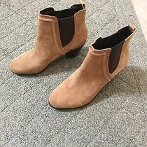 Sam Edelman Womens Brown Tan Layla Suede Bootie 8.5 New Without Box Photo