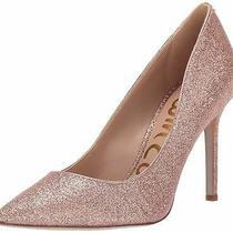 Sam Edelman Womens Hazel Pointed Toe Classic Pumps Pink Size 7.0 Bw3t Photo