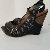 Sam Edelman Womens Size 9 Heels Josie Cork  Wedge Platform Sandals 5
