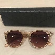 Sama Francesco Sunglasses Eyeglasses With Case Blush Color Photo