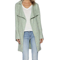 Sanctuary Anthropologie Aurora Sweater Coat Cardigan Jacket Small Mint Green Photo